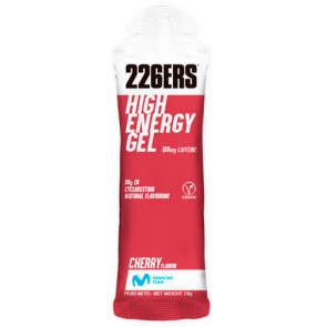 HIGH ENERGY GEL CHERRY CAFFEINE  (226R)