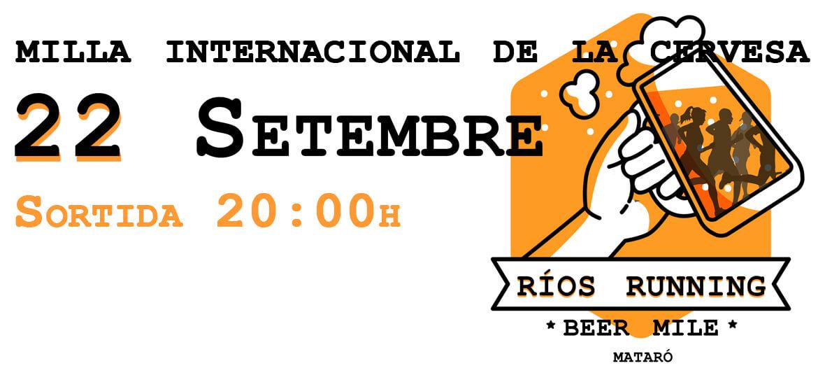 Beer Mile Ríos Running