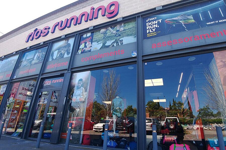 Tienda Ríos Running Mataró